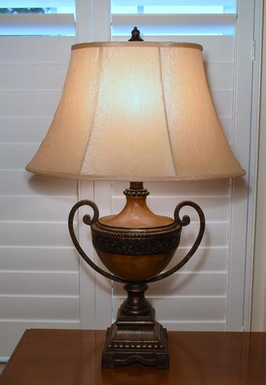 Contemporary Urn Style Table Lamp (MATCHES LOTS 14 & 16)
