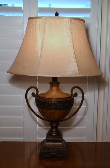 Contemporary Urn Style Table Lamp (MATCHES LOTS 14 & 15)