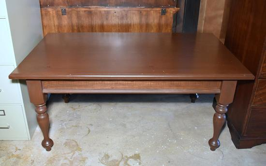 Americraft Dark Stained Pine Coffee Table