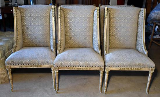 Set of Six Henredon Contemporary Dining Chairs