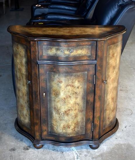Contemporary Hooker Furniture Pier Console Cabinet