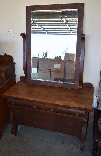 Antique Empire Dresser (also see lot 144, Part I)