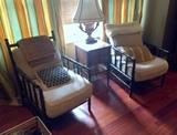 Fine Noir Bamboo Relax Chair (One) (Lots 35 & 36 Match)