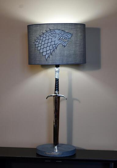 "Game of Thrones ""Winter Is Coming"" Stark Sword Lamp"