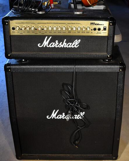 Marshall MG412A Sound System (100 W Head Amp W/ Effects & Large 120W Speaker), Switch