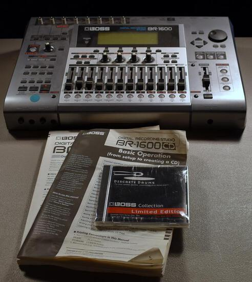 Boss Digital Recording Studio, Model BR-1600