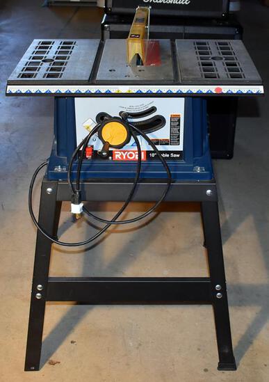 "Ryobi 10"" Electric Table Saw, Model BTS10"