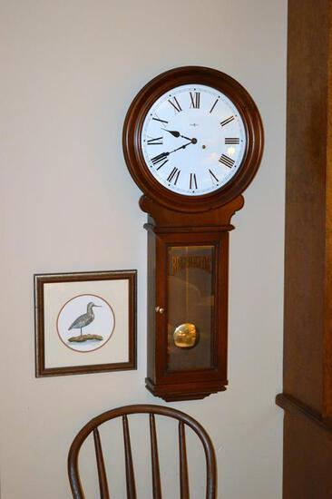 Classic Howard Miller Regulator Wall Clock