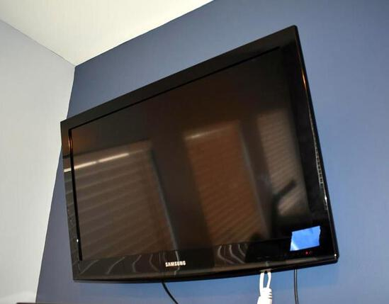 Samsung 32 Inch TV (Model LN32D403E4D) with Omni Mount