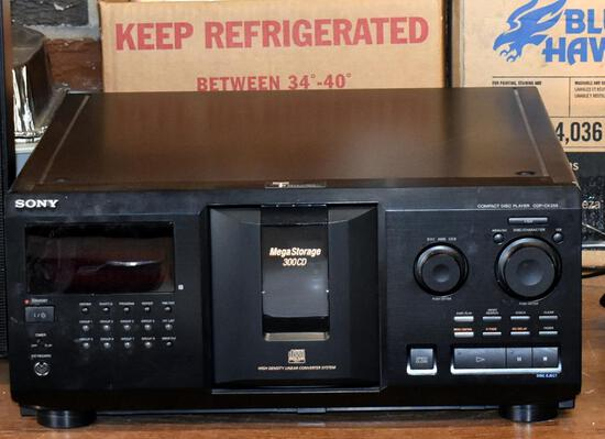 Sony Multi Compact Disc Player, Model: CDP-CX355