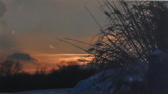 Photograph of Beach Sunset Framed Photograph Print (2/25) by Jean Finnila