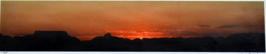 Photograph of Western Sunset Framed Photograph Print (1/25) by Jean Finnila