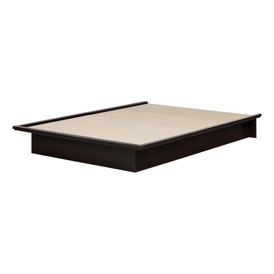 South Shore Full Size Black Platform Bed