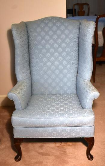 Queen Anne Furniture Co. Wing Back Armchair (Lots 15 & 16 match)
