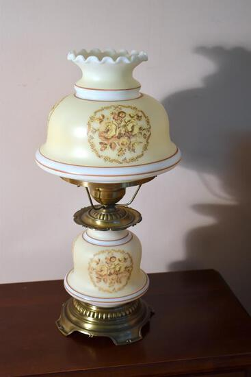 Small Gone With the Wind Style Table Lamp