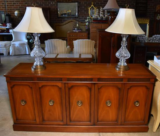 Handsome Cherry Sideboard by Drexel