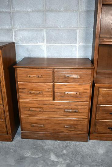"Quality ""Ranch Oak"" by Brand Furniture Bedroom Small Chest"