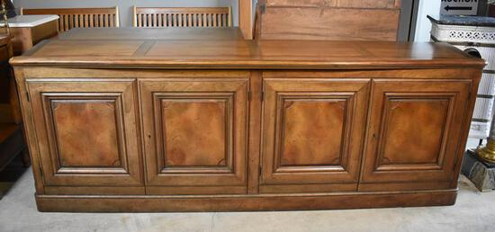 Attractive Baker Furniture Mid-Century Sideboard with Silver Storage Drawer