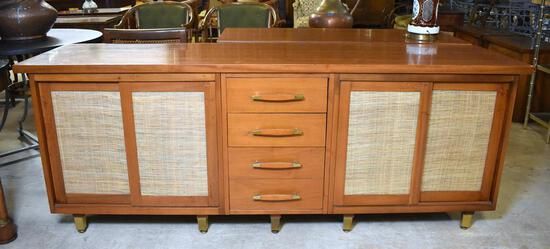 Fine 6.5 Ft. Long Mid-Century Modern Credenza