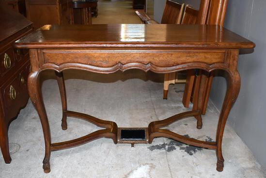 Graceful Auffray & Co., 3rd Ave NYC Fine French Walnut Ladies Desk