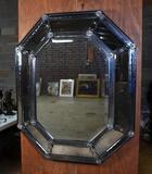 Fabulous Vintage Venetian Wall Mirror, Octagonal Shape