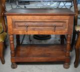 Ruggedly Handsome Vintage Side Table
