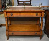 Elegant Vintage Dry Bar / Server / Pier Table
