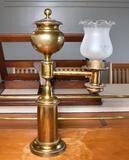 Vintage Antique Style Brass Student Lamp