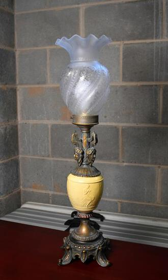 Pretty Neoclassical Style Table Lamp