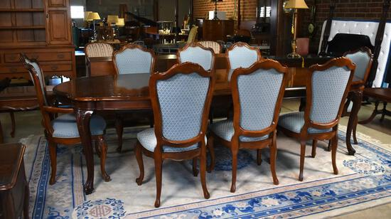 Wonderful Queen Anne Style Cherry Dining Table by Century Furniture of Hickory, NC