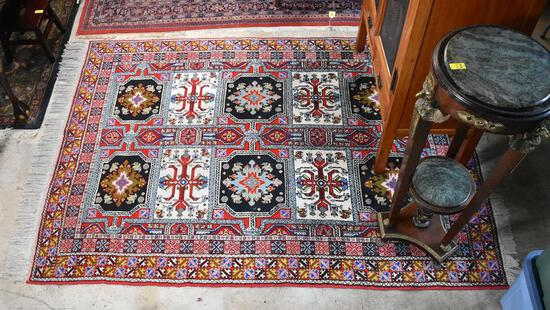 """Wonderful Moroccan """"Extra Superieure"""" Handknotted Wool Rug"""