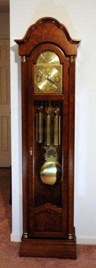 Ridgeway Grandfather Clock, Model 317   Auctions Online
