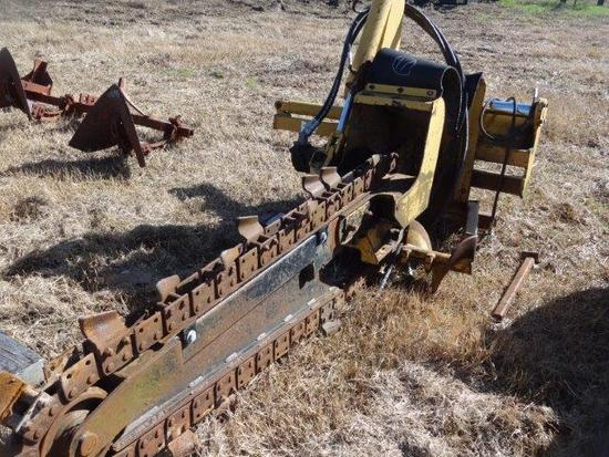 Vermeer 3550, 3pt Hydraulic Driven Trencher