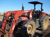 Case IH MXU 130 Roll Bar Canopy Tractor, MFWD