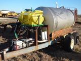 Pull-Type Approx. 800 Gallon Stainless Steel Tank