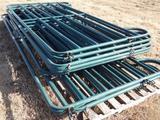 4 - (Green) 12ft Livestock Panels and 6 - 8ft (Green) Panels