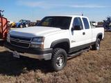 2005 Chevrolet 2500 Heavy Duty, 4wd, Ext Cab, Short Bed