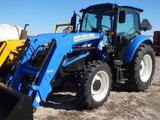 New Holland T4.75 MFWD, Cab & Air Tractor