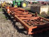 Hawkins 3pt Hydraulic Folding Heavy Duty 5 Bar, 26' Spike Harrow