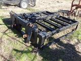 8 Bale Grapple with Quick Attach Mount