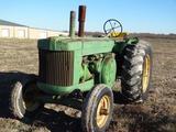 Vintage John Deere Model R Tractor