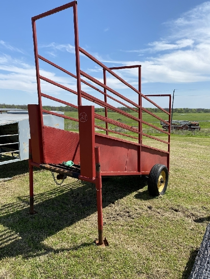 Portable Cattle Loading Chute