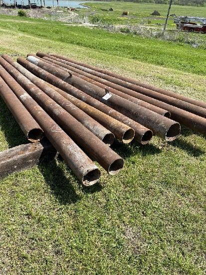 "10 - 6"" x 14' and 15' Pipe and 1 - 8"" x 13' Pipe"
