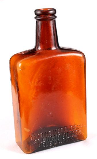 Oppenheimer & Asch Whiskey Bottle Helena Montana