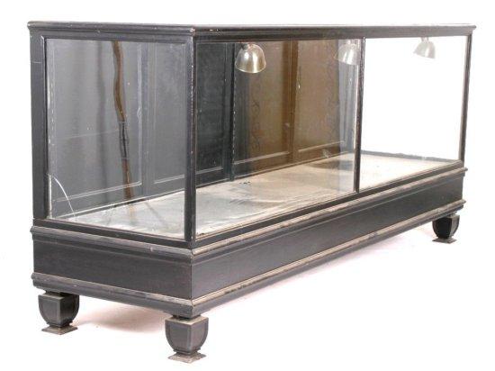 Early Mercantile Countertop Glass Display Case