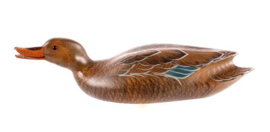 John Gewerth Ducks Unlimited Carved Decoy