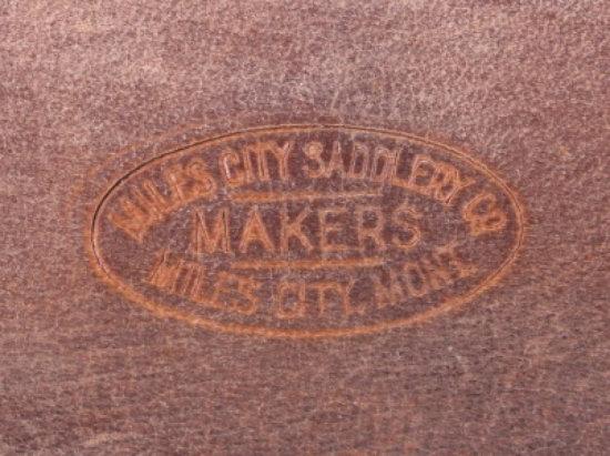 Miles City Saddlery Montana Tooled Wallet