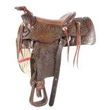 e7879632403f Helena Saddlery Company Expertly Tooled Saddle ...