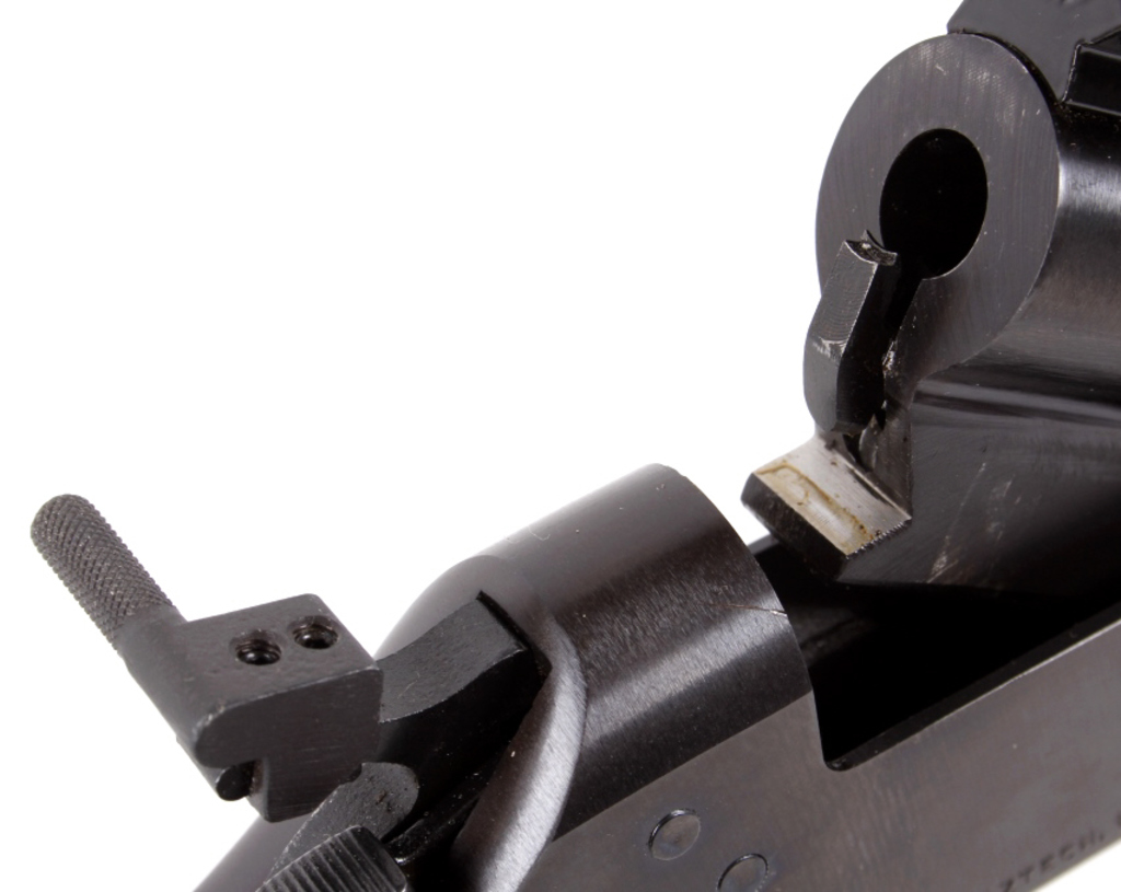 Single Shot 243 Rifle