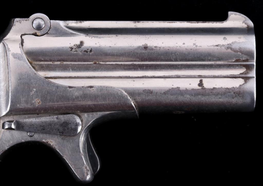 Lot: Remington O/U Double Barrel Derringer SUPERB   Proxibid Auctions